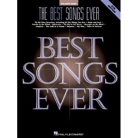 Big-Note Piano: The Best Songs Ever (Paperback) - Best Halloween Songs For Adults