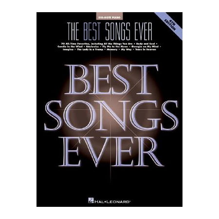 Big-Note Piano: The Best Songs Ever (Paperback)](Halloween Song Piano)
