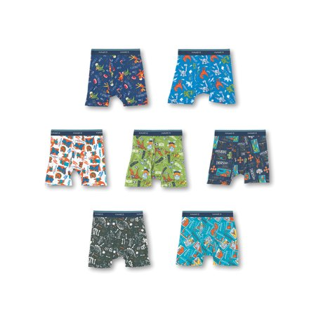 Hanes Days of the Week Boxer Briefs, 7 + 1 Bonus Pack (Toddler Boys)