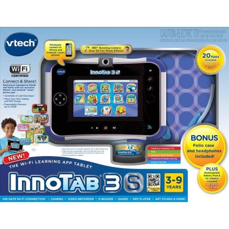 Vtech InnoTab 3S Bundle - Blue