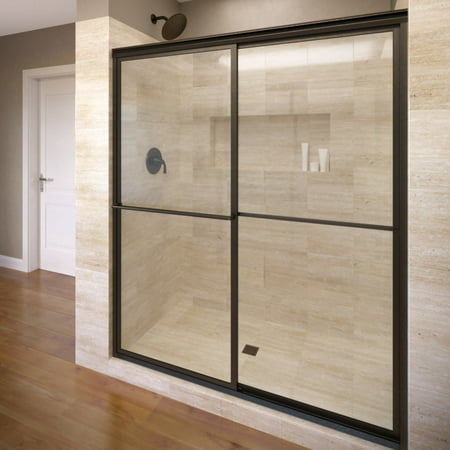 Basco A0517-48Xp Deluxe 71-1/2u0022 High X 47u0022 Wide Bypass Framed Shower Door