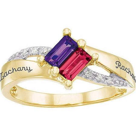 Personalized Keepsake Carina Promise Ring