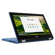 """Acer Chromebook R11 CB5-132T-C67Q Touch screen Chromebook with Intel Celeron N3060 Processor, 11.6"""" IPS Multitouch screen 4GB Memory, 32GB SSD and Google Chrome OS"""