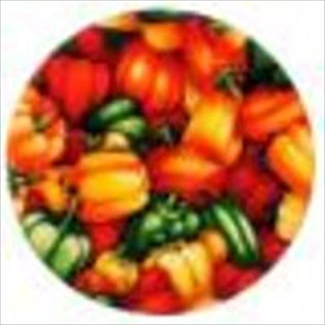 Andreas TR-934 Market Peppers Silicone Trivet - Pack of 3