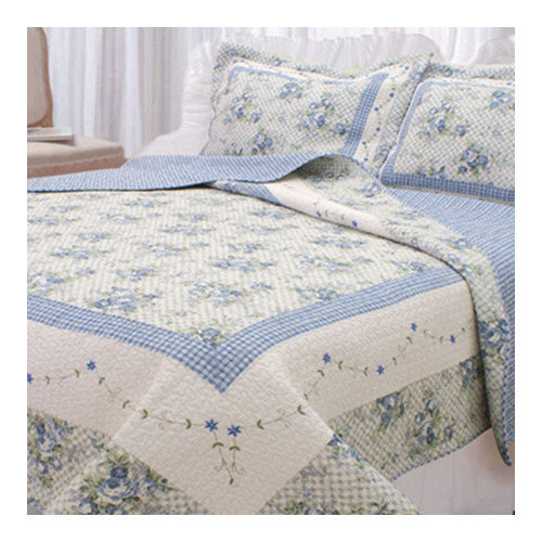 Textiles Plus Inc. Trellis Quilt Set