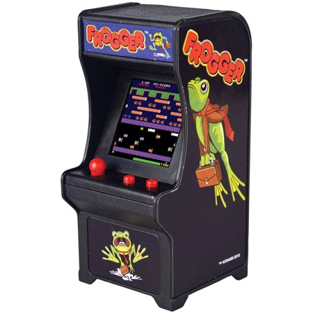 (Set) Frogger Miniature Arcade Video Game w/ Batteries Plays Like Original