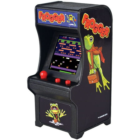 (Set) Frogger Miniature Arcade Video Game w/ Batteries Plays Like Original (Miniature Video)