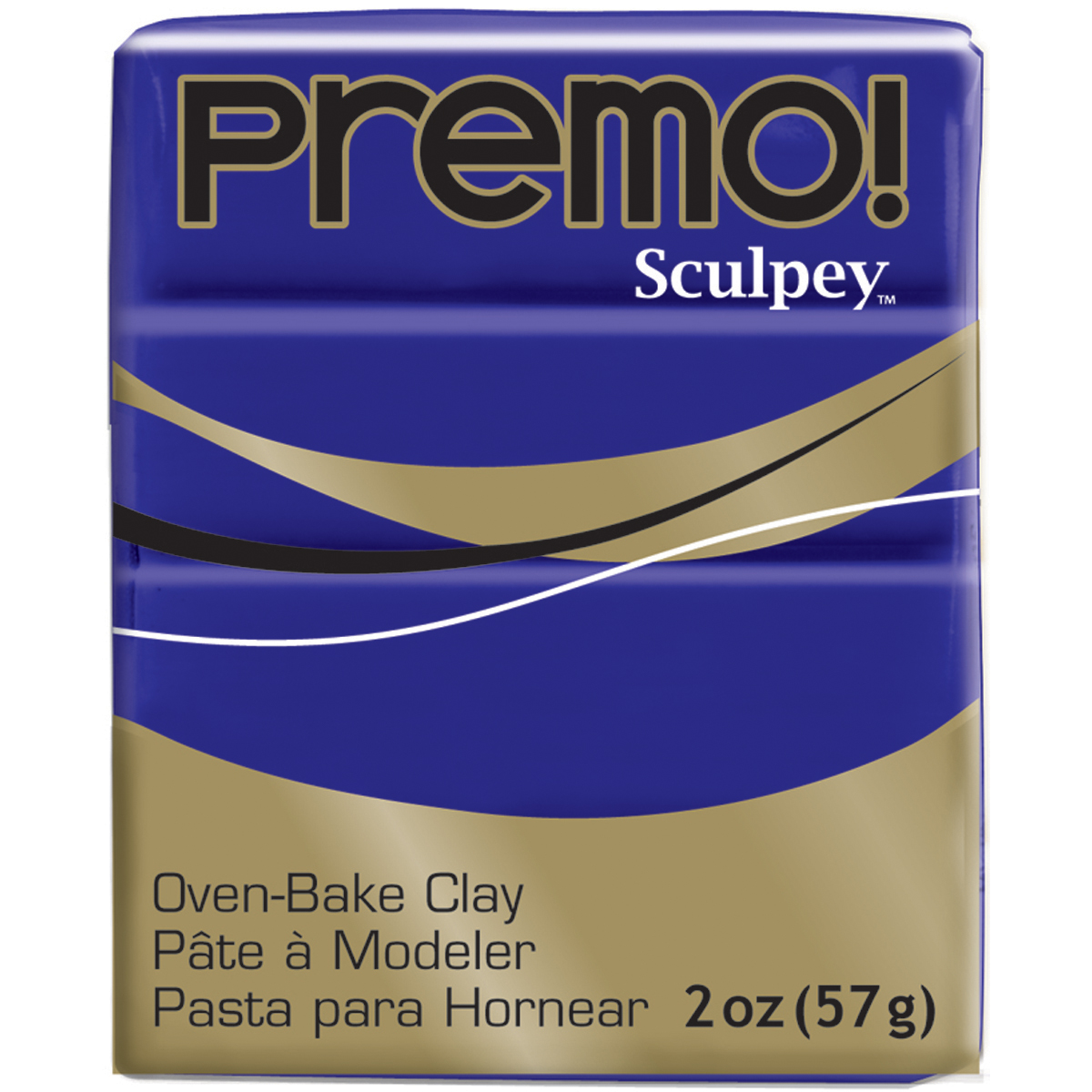 Premo Sculpey Polymer Clay 2oz-Purple