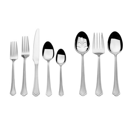 International Silver Plated - International Silver  Capri Frost 51 Pc Flatware Set