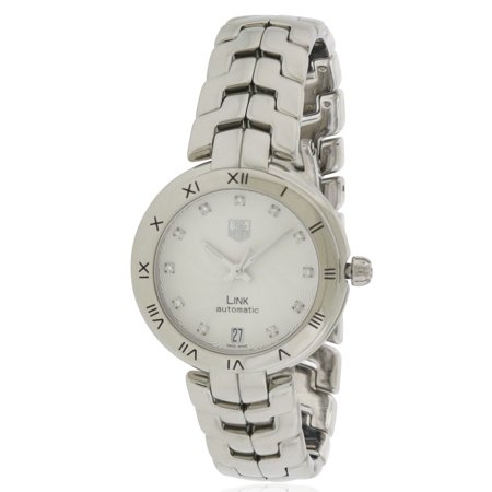 Tag Heuer Link Diamond Automatic Ladies Watch WAT2311.BA0956