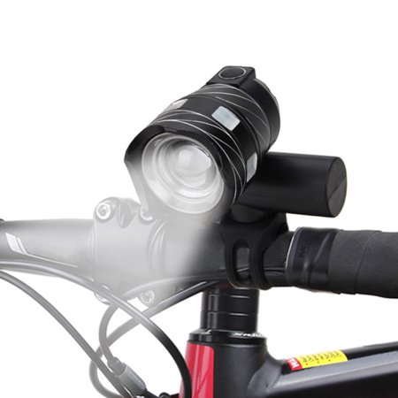 TSV Waterproof 500 LM XML T6 LED Cycling Bike Bicycle Head Light Zoom Torch USB Lamp