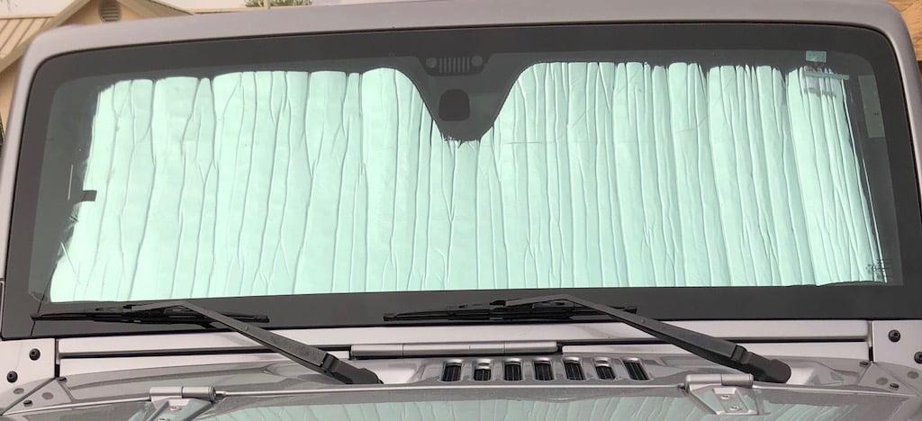 Grand Caravan 2008-2019 Introtech Roll-up Sunshade fits DODGE Caravan