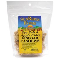 Cashews Sea Salt/Apple Vinegar - SUNRIDGE FARMS