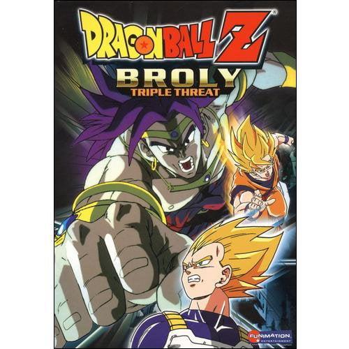 Dragon Ball Z Broly Triple Threat (Japanese)