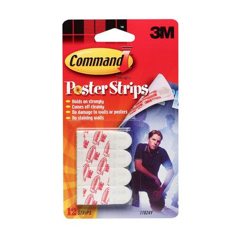 Command Poster Strips, 17024-PM, White