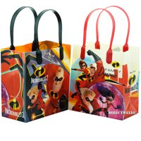 Disney Incredibles 12 Party Favor Small Goodie Bags