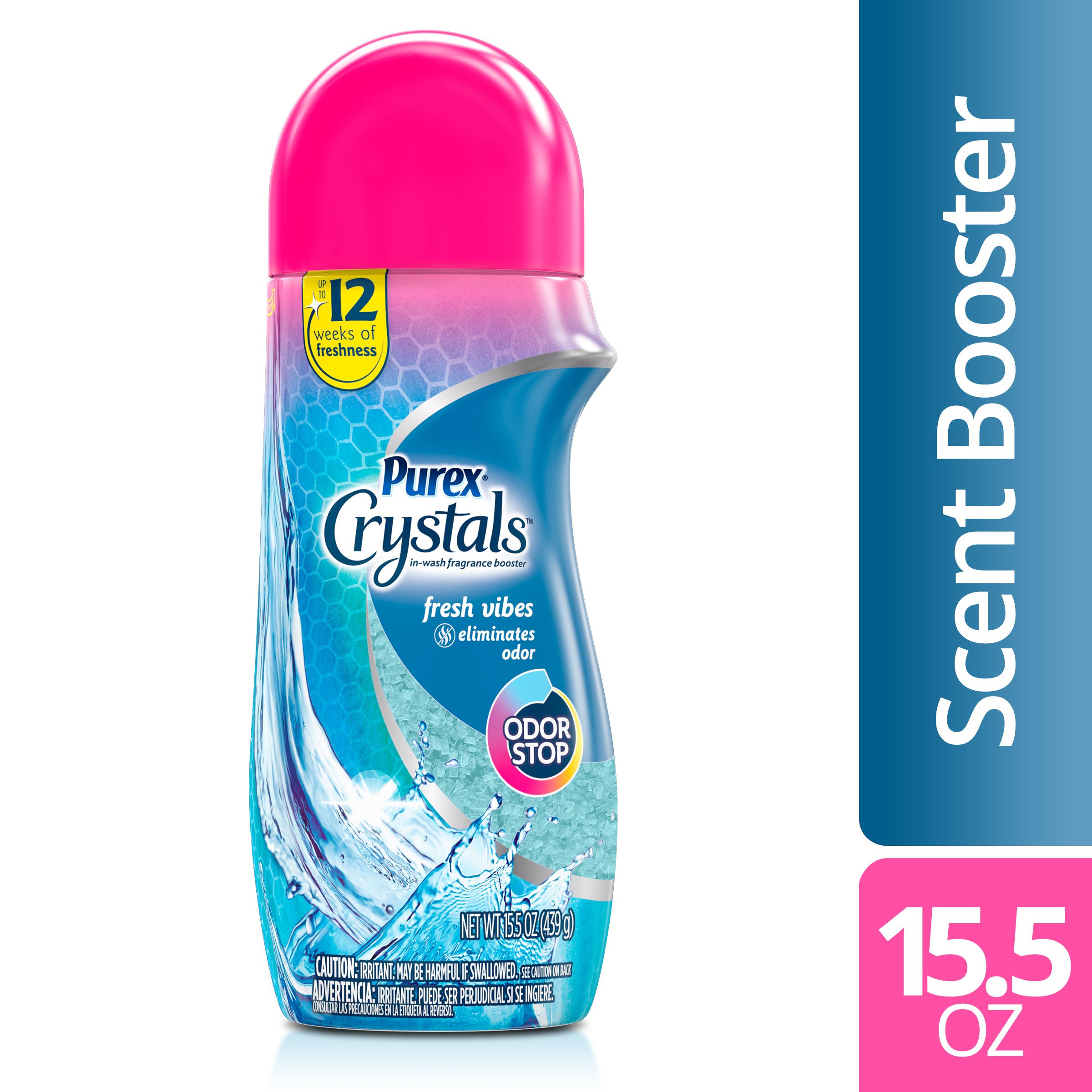 Purex Crystals In Wash Fragrance And Scent Booster Fresh Vibes 15 5 Ounce Walmart Com Walmart Com