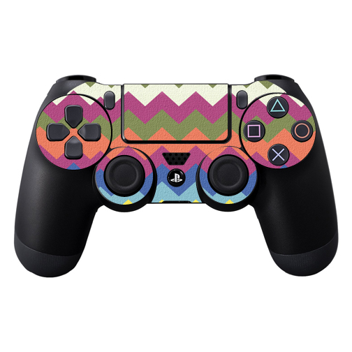 Mightyskins Protective Vinyl Skin Decal Cover for Sony PlayStation DualShock 4 Controller wrap sticker skins Earth Chevron