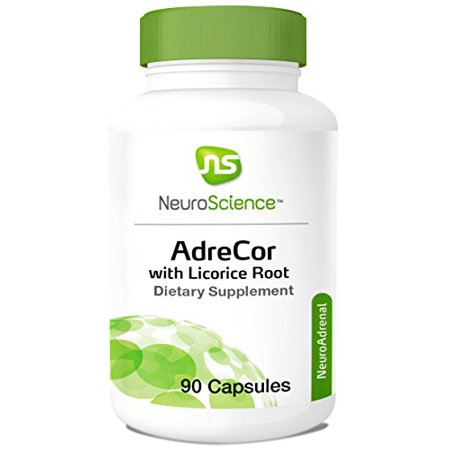 Adrecor W/ Licorice Root for Healthy Adrenal Function 90 Caps By Neuroscience