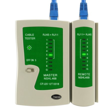 Insten Cable Tester For RJ45 / (Modular Cable Tester)