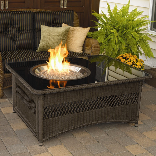Outdoor GreatRoom Naples Fire Pit Table