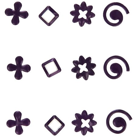 Purple Metallic Gems, Add some sparkle to all your crafts By K&Company ()