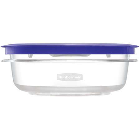 Rubbermaid Premier Food Storage Container  3 Cup  Iris