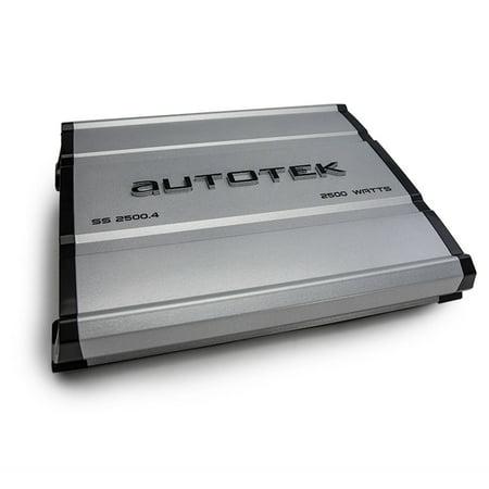 Autotek SS2500.4 Super Sport Series 4-Channel Class AB Amp (2,500 - 4 Hole Amps