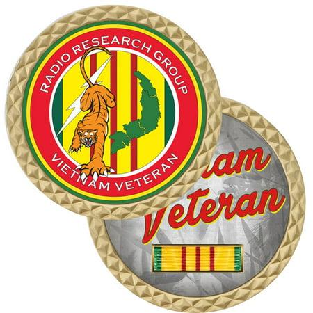 Radio Research Vietnam Challenge Coin