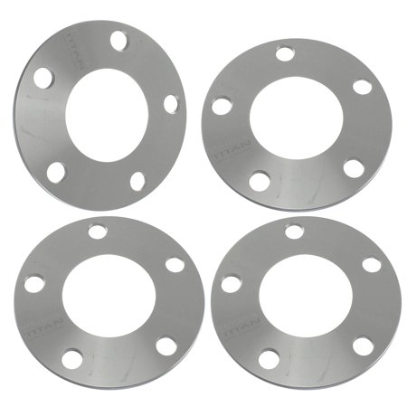 (4) 5mm 5x114.3 Hubcentric Wheel Spacers for Toyota Camry MR2 Supra Lexus IS250 IS350 (60.1 bore) ()