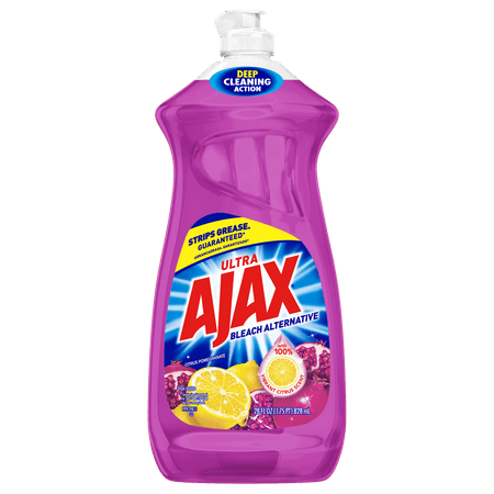 Ajax Ultra Bleach Alternative Liquid Dish Soap, Citrus Pomegranate - 28 fluid ounce
