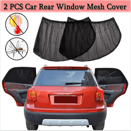 Rear Window Sun Visor - 4 Pieces Car Window Sunshade(39.4