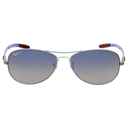 ray ban aviator blau polarisiert