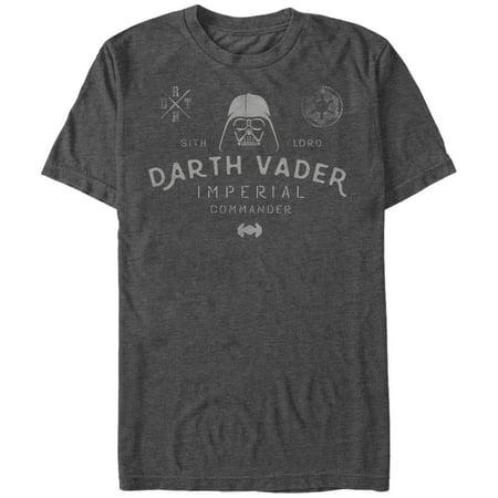 Imperial Commander - Star Wars Men's Imperial Commander Emblem T-Shirt
