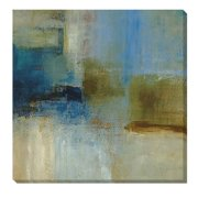 Artistic Home Gallery 'Blue Abstract' by Simon Addyman Painting Print on Wrapped Canvas