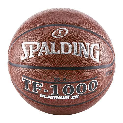 "Spalding TF-1000 Platinum ZK Basketball, 29.5"" by"
