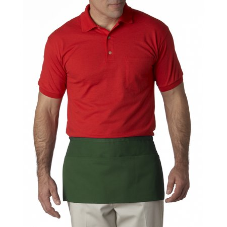 A Product of Liberty Bags Three-Pocket Waist Apron - FOREST - OS [Saving and Discount on bulk, Code