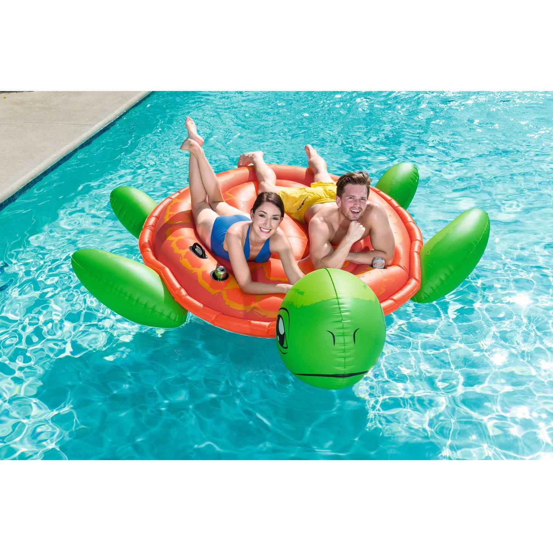 Bestway PINK FLAMINGO Jumbo Floatie INFLATABLE POOL RAFT RIVER FLOAT Supersized
