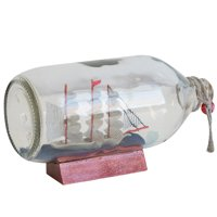 Decorative Tabletop Ship In A Bottle