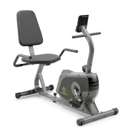 Marcy Magnetic Recumbent Exercise Bike NS-1206R