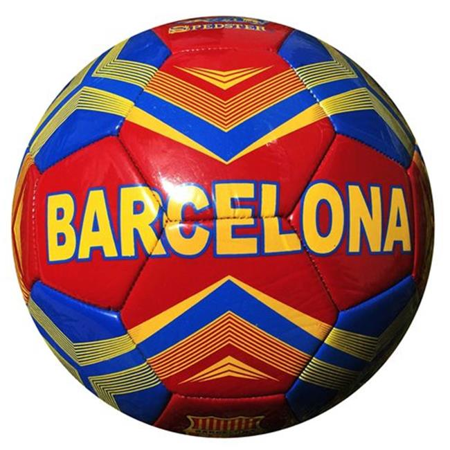 Spedster Sports SPMS20162C Country Barcelona Machine Stitched Soccer Ball
