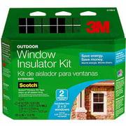 Outdoor Window Insulator Kit, 2 Pk