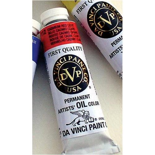 Da Vinci Paints Artists' Oil Color Paint