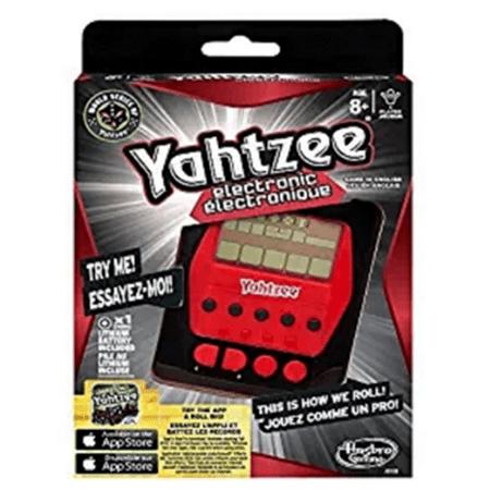Hasbro Yahtzee Electronic Hand-Held [Gold] (Yahtzee Electronic)