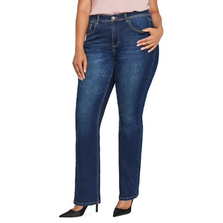 Plus Authentic Barely Boot Jeans for $<!---->