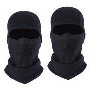 Windproof Outdoor Sports Full Face Mask Cap Cycling Balaclava Hat Men Black