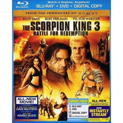 The Scorpion King 3: Battle For Redemption (Blu-ray + DVD) (With INSTAWATCH) (Anamorphic Widescreen)