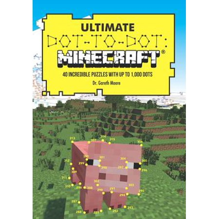 Ultimate Dot-To-Dot: Minecraft : 40 Incredible Puzzles with Up to 1,000 Dots](Halloween Alphabet Dot To Dot)