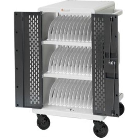 Bretford DELL36 36 Unit Store and Charge Cart - Topaz, Concrete (Refurbished)