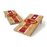 TTXL Shield Hardwood College Iowa State Cyclones Bean Bag Toss Game